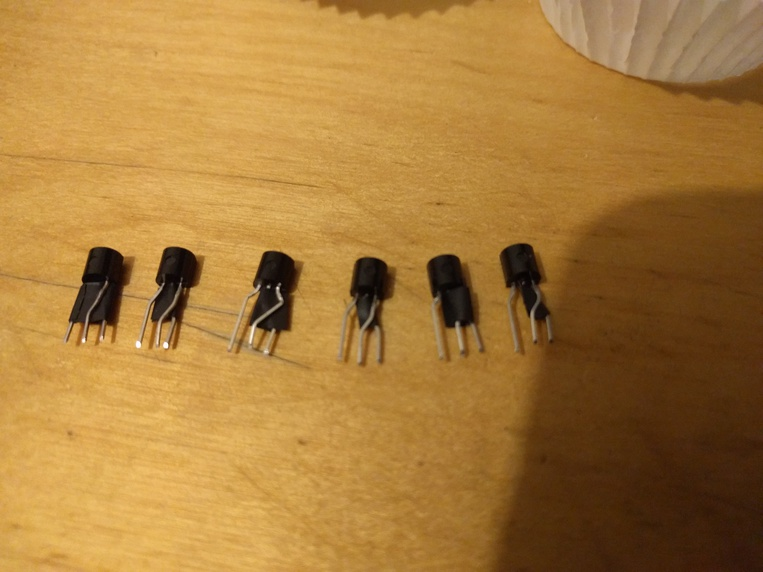 Transistors doing the river-dance