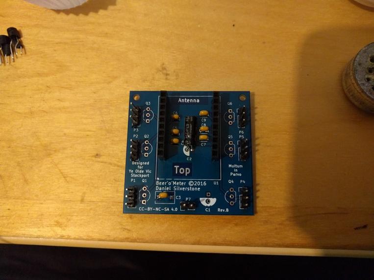 Step 3, pins and sockets